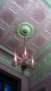 Pink Tin Ceiling